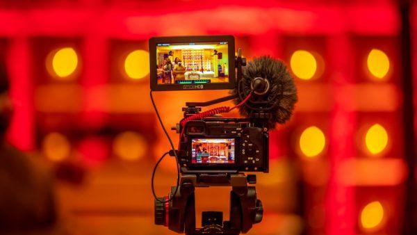 Filming educational video
